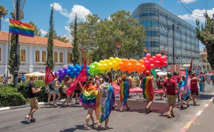 מצעד הגאווה בראשון לציון צילום: אבי קקון