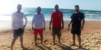 מצילים בחוף ראשון לציון